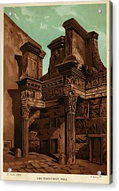 Foro Transitorum     Date 1891 Acrylic Print by Mary Evans Picture Library