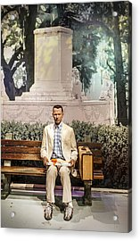 Forrest Gump Acrylic Print by Mountain Dreams
