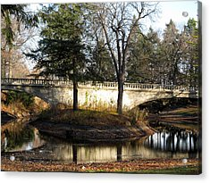 Forrest Home Bridge Acrylic Print