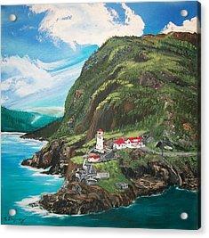 Fort Amherst Newfoundland Acrylic Print