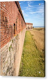 Acrylic Print featuring the photograph Fort Clinch by Wade Brooks