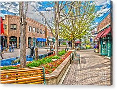 Fort Collins Acrylic Print