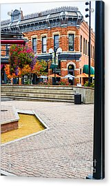 Fort Collins Square Acrylic Print