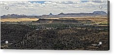 Fort Davis From Davis Mountains State Park Acrylic Print