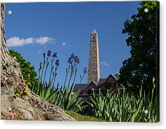 Fort Griswold Monument Acrylic Print by Kirkodd Photography Of New England