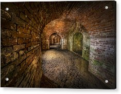Fort Macomb Acrylic Print by David Morefield