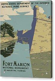 Fort Marion Acrylic Print
