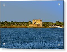 Fort Matanzas - Saint Augustine Florida Acrylic Print by Christine Till