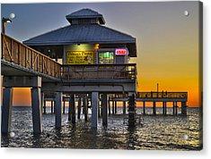 Fort Myers Beach Pier 4 Acrylic Print
