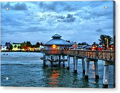 Acrylic Print featuring the photograph Fort Myers Beach by Rosemary Aubut