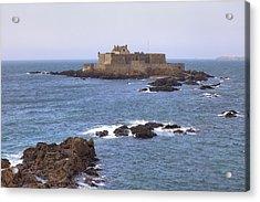 Fort National - Saint-malo Acrylic Print by Joana Kruse