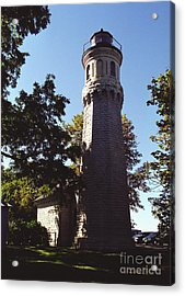 Acrylic Print featuring the photograph Fort Niagara Lighthouse by Tom Brickhouse
