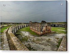 Fort Pike Acrylic Print by David Morefield
