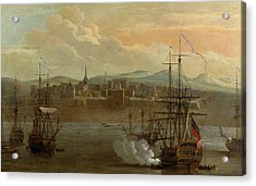 Fort St George In Madras Acrylic Print by British Library