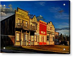 Acrylic Print featuring the photograph Fort Steele by Rob Tullis