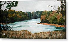 Fort Toulouse Coosa Tallapoosa River Acrylic Print by Beth Parrish