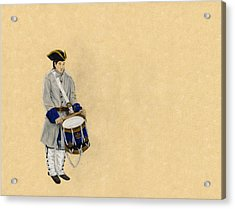 Fort Toulouse Drummer Boy Acrylic Print by Beth Parrish