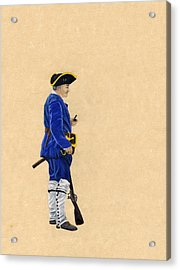 Fort Toulouse Soldier At Ease Acrylic Print by Beth Parrish