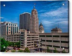 Fort Wayne Skyscrapers Acrylic Print