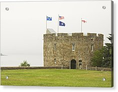 Fort William Henry Bristol Maine Acrylic Print by Keith Webber Jr