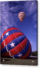 Fort Worth Balloons Acrylic Print