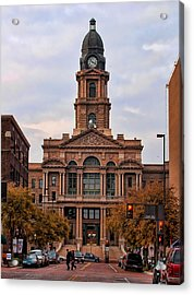 Fort Worth Courthouse Acrylic Print