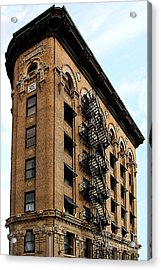 Fort Worth Flatiron Building Acrylic Print