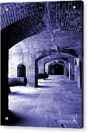 Fort Zachary Taylor2 Acrylic Print by Claudette Bujold-Poirier