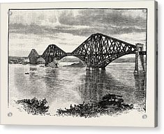 Forth Bridge, From The South-west. The Forth Bridge Acrylic Print