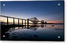 Forth Rail Bridge Acrylic Print by Stephen Taylor