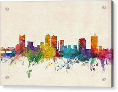 Fort Worth Texas Skyline Acrylic Print
