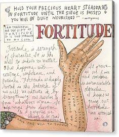 Fortitude Acrylic Print