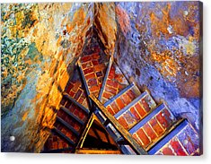Fortress Steps Acrylic Print