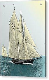 Fortuna - Schooner Yacht Acrylic Print