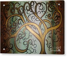 Fortune Tree Acrylic Print