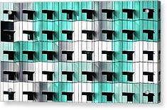 Forty Windows Acrylic Print by Wayne Pearson