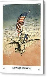 Forward America Acrylic Print