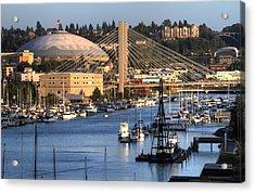 Foss Waterway Tacoma Acrylic Print