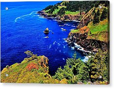 Foulweather Acrylic Print by Benjamin Yeager