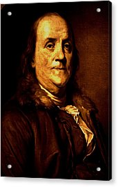 Founding Father Acrylic Print by Benjamin Yeager