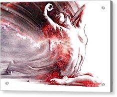 Fount Iv Textured Acrylic Print