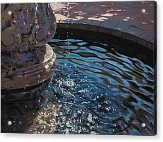 Fountain Acrylic Print