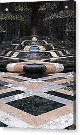 Fountain Flow Acrylic Print by Glenn DiPaola
