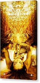 Fountain Of Boundless Love Acrylic Print by Jalai Lama
