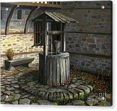 Fountain Of Life Acrylic Print