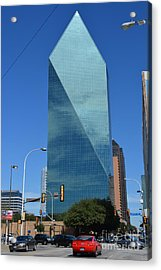 Fountain Place Building  Acrylic Print by Ruth  Housley