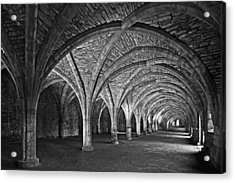 Fountains Abbey Cloister Acrylic Print
