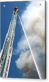 Four Alarm Blaze 001 Acrylic Print by Lon Casler Bixby