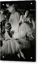 Four Ballet Dancers Acrylic Print by Remie Lohse