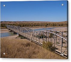 Four Corners Bridge Acrylic Print